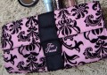 Too Faced Sweet Black and Pink Clutch